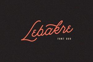 Lebakre Font Duo