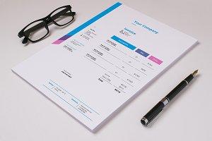 Invoice Template V05