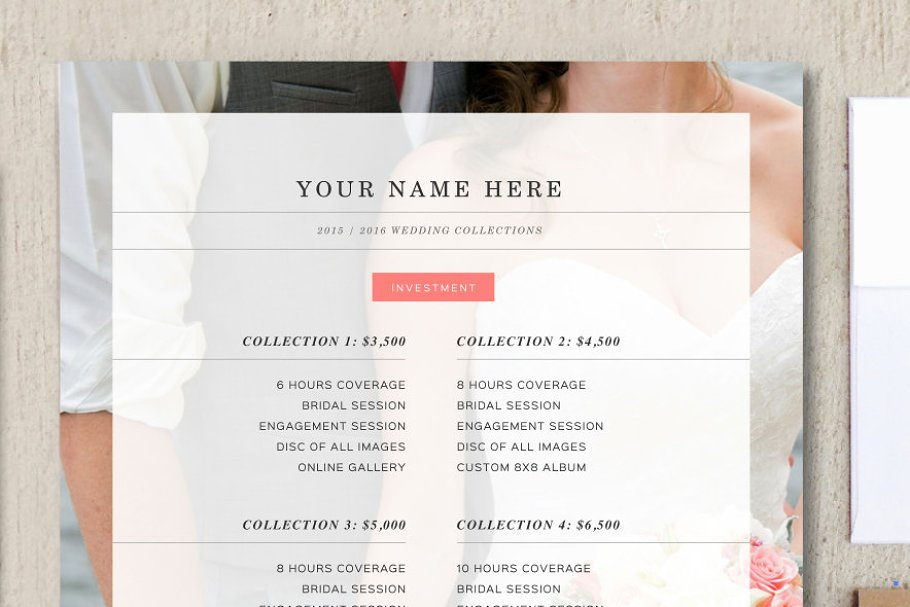 Wedding Photography Pricing.Wedding Photographer Price List