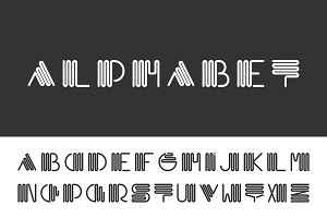 Alphabet set - creative font