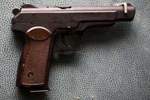 Russian military pistol - APS Stechkin - soviet weapon