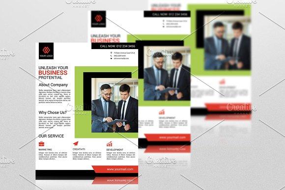 Business Flyer Template V568