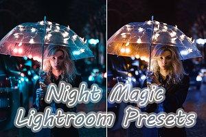 Night Magic, Lightroom Preset