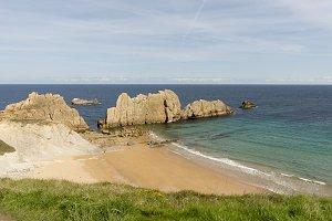 The beach of Arnia