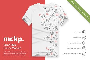 Japan Style by mckp - Tshirt Mockups