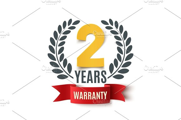 Two Years Warranty Background