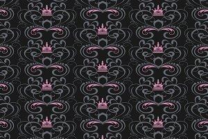 Swirl pattern vintage style