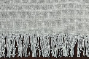 Fabric with fringe