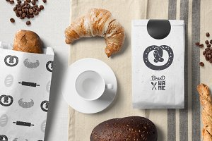 4 Bakery Logos