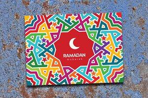 4 Ramadan Mubarak greeting cards