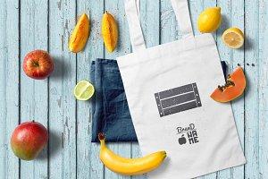 4 Fruit Logos