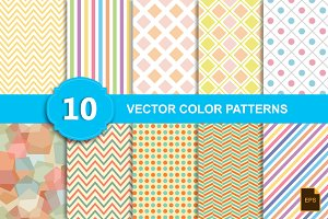Vector color Patterns