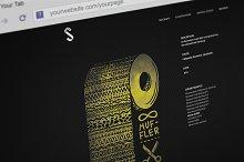 Photorealistic Webbrowser Mock-Up