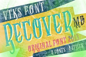 Recovery MB font