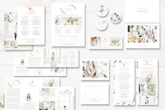 Wedding Photography Marketing Set Stationery