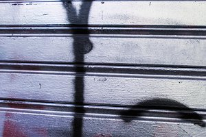 Metal Shutter Background