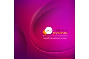 Purple vector Template Abstract background with curves lines and shadow. For flyer, brochure, booklet and websites design