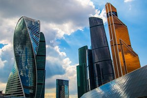 Moscow City - business center