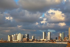 Magnificent panorama of Tel Aviv