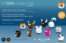 AniBalls, Character Creation Set