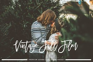 Vintage Fall Film Lightroom Preset