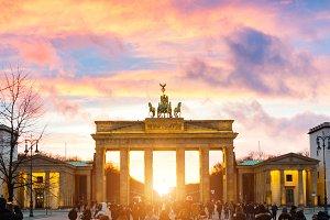 Brandenburger Tor auf Pariser Platz