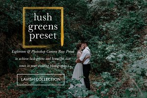 Lush Greens Wedding Presets