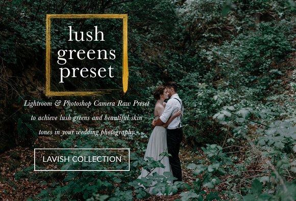 Lush Greens Wedding Presets
