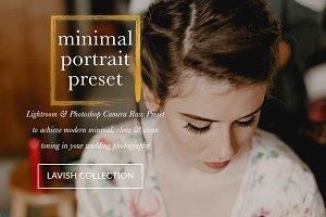 Minimal Portrait & Stills Presets