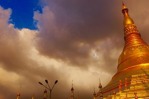 Shwedagon Gold Stupa