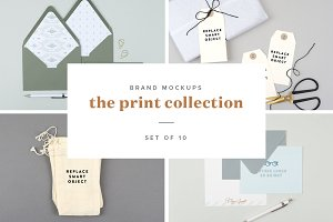 Brand Mockups: Print Collection