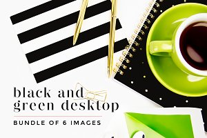 Black + Green Desktop Bundle