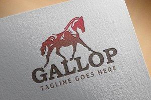 Classic Logo - 'Gallop'