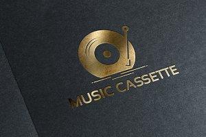 Classic Music Cassette Logo Designs