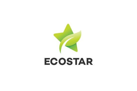 Green Star Logo Template ~ Logo Templates ~ Creative Market