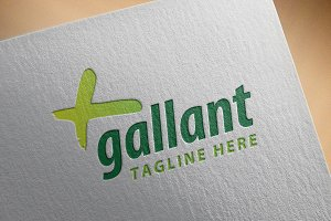 Modern Logo - 'Gallant'