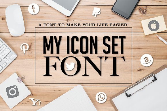 My Icon Set Font