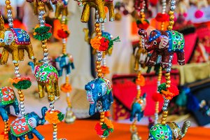 Colours Figures Decorative