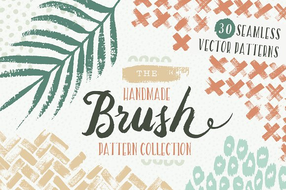 Handmade Brush Pattern Collection