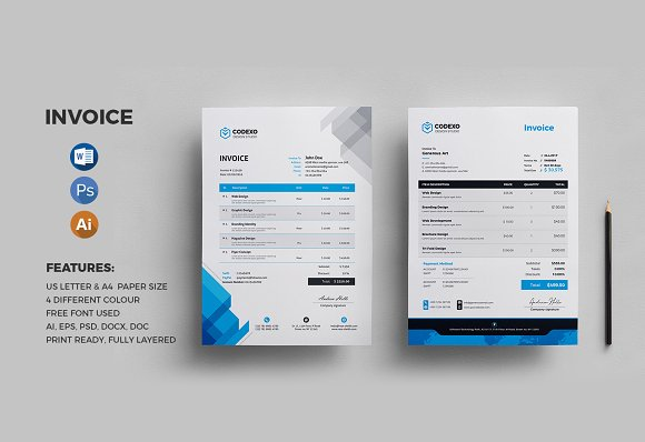 Invoice 2 Creative Design