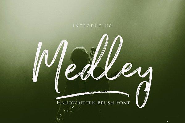 Best Medley Script Vector