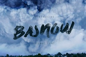 Basnow Grunge Font