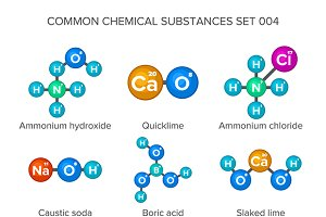 Common molecular structures