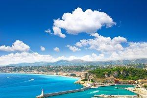 Nice, Cote d'Azur, Landscape