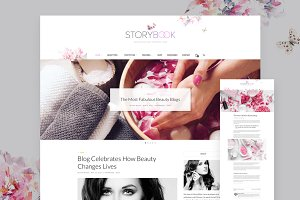 Storybook - Modern Blog & Shop Theme