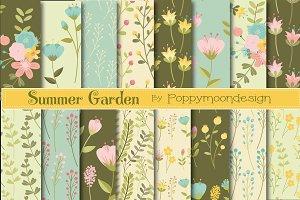 Summer garden papers
