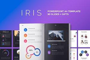 A4 | IRIS PowerPoint Template