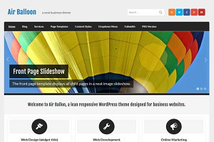 Air Balloon - Business WP Theme