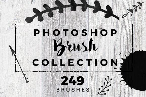 249 Photoshop Brushes