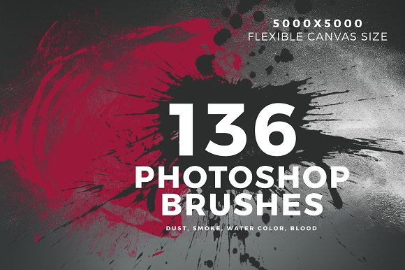 136 Photoshop Brushes